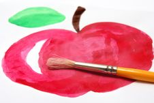 Free Red Apple Royalty Free Stock Image - 20497346