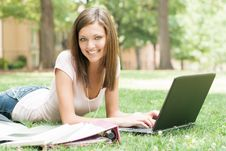 Attractive Young Student Stock Image