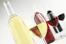 Free Three Colors Of Wine Royalty Free Stock Photography - 20497867
