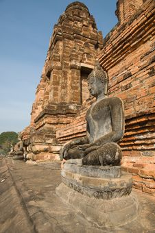 Free Ancient Image Buddha Statue At Sukhothai Royalty Free Stock Photography - 20498347