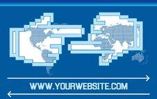 Free Global Network Partnership Royalty Free Stock Image - 20498916