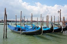 Free Venice - Gondolas Royalty Free Stock Photo - 20499355
