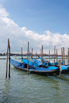 Free Venice - Gondolas Stock Photography - 20499382
