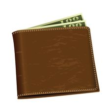Free Dollar Money Wallet Stock Photos - 20499393