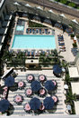 Free Hotel Pool At San Diego Royalty Free Stock Photography - 2050987
