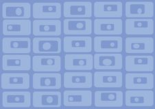 Free Pattern Of Blue Rectangles. Vector Stock Photo - 2050970