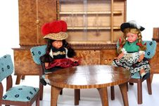 Free Doll Meeting 4 Royalty Free Stock Photography - 2051167