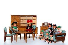 Free Doll Meeting 6 Royalty Free Stock Image - 2051186