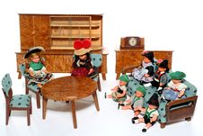 Free Doll Meeting 7 Royalty Free Stock Image - 2051196