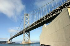 Bay Bridge Royalty Free Stock Photography
