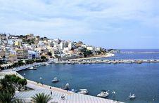 Free Crete Harbour Royalty Free Stock Photo - 2052735