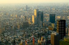 Free Skyscrapers. Tokyo Stock Images - 2053084