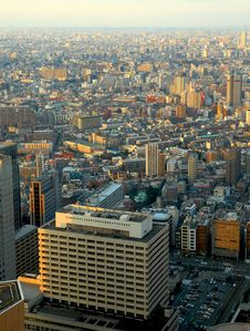Free Skyscrapers. Tokyo Royalty Free Stock Photography - 2053097