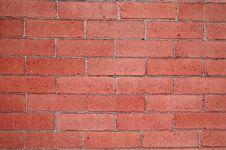 Detail Of Brick Wall Royalty Free Stock Photos