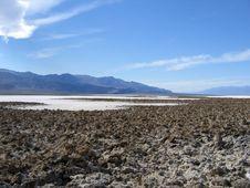 Free Badwater Basin Stock Image - 2053981