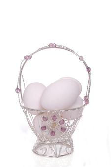 Free Easter Basket 4 Royalty Free Stock Image - 2054026