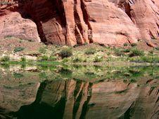 Colorado River At Grand Canyon Stock Photo