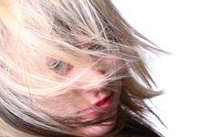 Free Wind Girl Stock Photos - 2054443