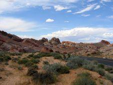 Free Multi-colored Rocks In Nevada Stock Image - 2054561