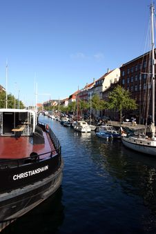 Free Christianshavn Canal Stock Photography - 2055702