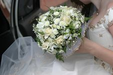 Free Wedding Bouquet Of The Bride Royalty Free Stock Photos - 2055888