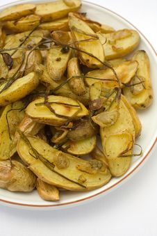 Free Potatoes Roasted Fingerling Royalty Free Stock Image - 2056516