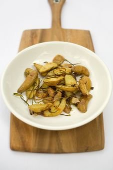 Free Potatoes Roasted Fingerling Stock Photography - 2056542
