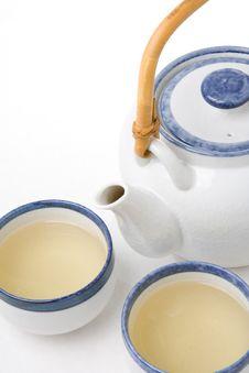Free Tea Cups And Teapot Stock Photos - 2056983