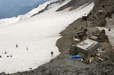 Free Camp Muir, Mount Rainier National Park Royalty Free Stock Photography - 2057067