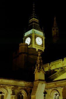 Free Big Ben At Night Stock Image - 2057281