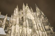 Free The Famous Cathedral Of Cologne Royalty Free Stock Photography - 2057497