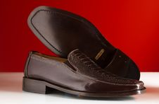 Luxury Man Shoes 08 Stock Photos
