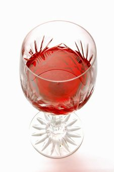 Free A Glass Of Red Wine Royalty Free Stock Photos - 2059448