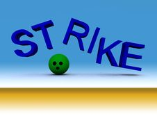 Strike 20 Royalty Free Stock Images