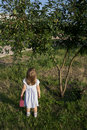Free Little Girl Outdoors Royalty Free Stock Photography - 20500817