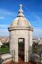 Free Dome Of The Tower Belém Royalty Free Stock Photo - 20508575