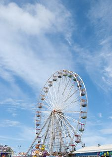 Free Fairground Wheel And Pier9 Stock Photo - 20500410