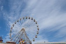 Free Fairground Wheel And Pier15 Royalty Free Stock Photo - 20500495