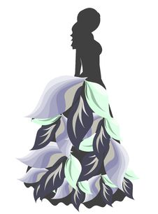 Free Silhouettes Woman Stock Image - 20500511