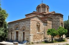 Free Byzantine Church Of The Holy Apostles Stock Images - 20500524