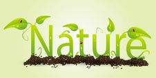 Free Nature Text Royalty Free Stock Image - 20500566