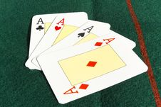 Free Poker Cards Stock Images - 20500784