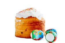Free Easter Cake And Eggs Stock Photography - 20500862