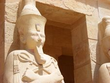 Free HATSHEPSUT S TEMPLE Stock Photos - 20501423