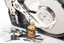 Free Crashed Hard Drive Royalty Free Stock Images - 20501499