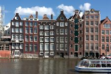 Free Typical Amsterdam Architecture Stock Images - 20501504