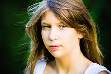 Free Young Girl Portrait Royalty Free Stock Images - 20501549