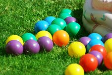 Free Colorful Plastic Balls Royalty Free Stock Photo - 20501985