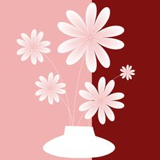 Free The Vase Blooming Flowers Stock Images - 20502114