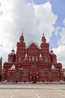 Free Russia. History Museum At Red Square In Moscow Royalty Free Stock Photos - 20502198